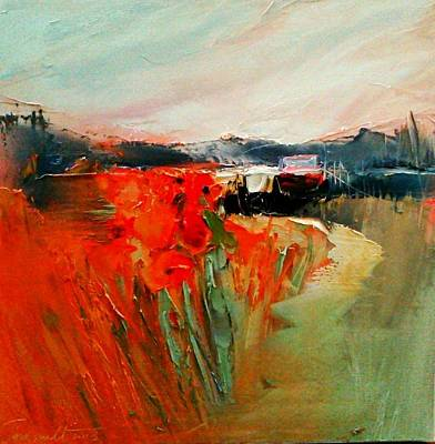 Painting - Meadow by David Figielek