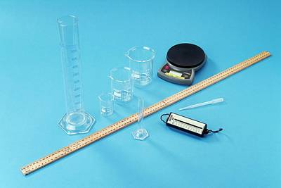 Familiar Object Photograph - Measuring Equipment by Trevor Clifford Photography
