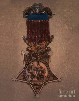 Photograph - Medal Of Honor by Donna Greene