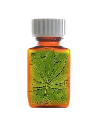 Medicinal Marijuana Art Print