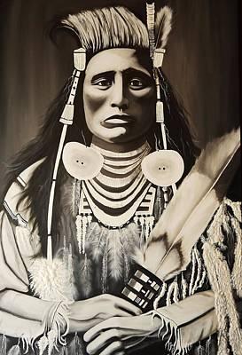Medicine Crow Painting - Medicine Crow by Treacey Kotze
