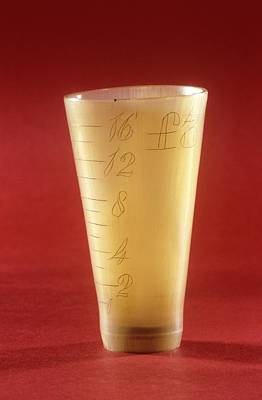 Fluid Photograph - Medicine Measure by Science Photo Library
