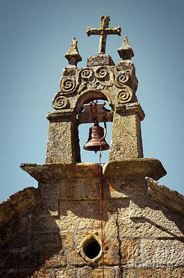 Medieval Temple Photograph - Medieval Campanile  by Carlos Caetano