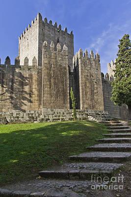 Gothic Photograph - Medieval Castle Keep by Jose Elias - Sofia Pereira