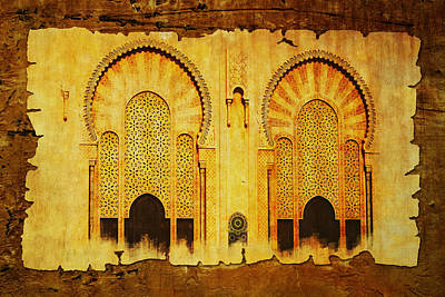 Historic Site Painting - Medina Of Faz by Catf
