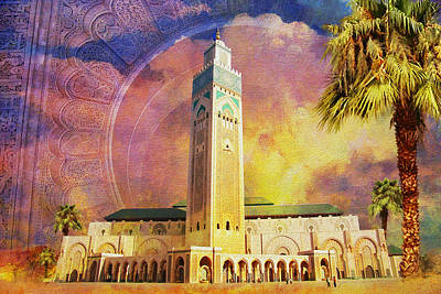 Medina Of Marakkesh Art Print