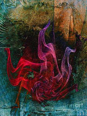 Medusa Digital Art - Medusa by Klara Acel