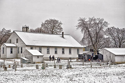 Photograph - Meeting House by Denis Lemay