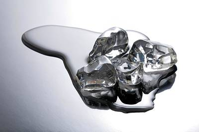 Melting Ice Art Print by Victor De Schwanberg