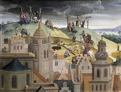 Memling, Hans 1433-1494. Passion Art Print by Everett