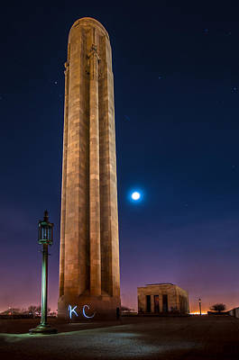 Photograph - Memorial Kc by Ryan Heffron
