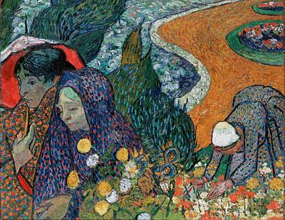St. Vincent Painting - Memory Of The Garden At Etten by Vincent van Gogh