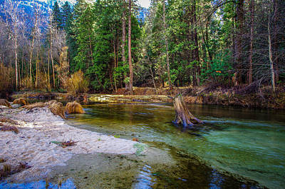 World Heritage Sites Photograph - Merced River Yosemite National Park by Scott McGuire