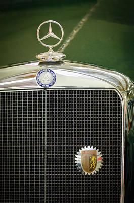 Photograph - Mercedes-benz Hood Ornament - Emblem by Jill Reger