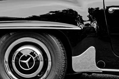 Photograph - Mercedes-benz Wheel Emblem by Jill Reger