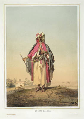 Aristocrat Photograph - Merchant From Mecca by British Library