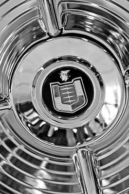 Photograph - Mercury Wheel Emblem by Jill Reger