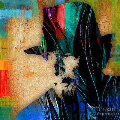 Country Mixed Media - Merle Haggard Collection by Marvin Blaine