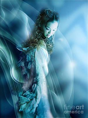Mermaid Print by VIAINA Visual Artist