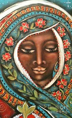 Holy Mother Mixed Media - Merope by Maya Telford