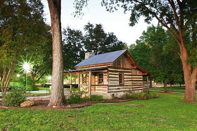 Merriman Cabin Historic Structure Art Print