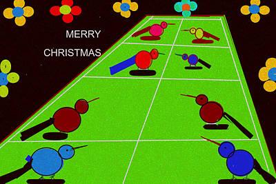 Digital Art - Merry Christmas-d8 by Anand Swaroop Manchiraju