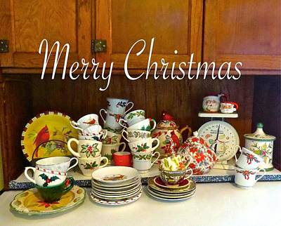 Photograph - Almost Ready For Merry Christmas Tea  by Nancy Patterson