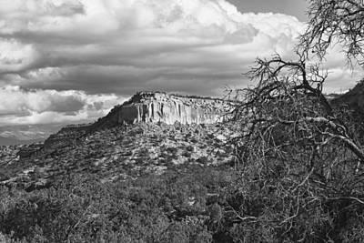 White Photograph - Mesa by Hugh Smith
