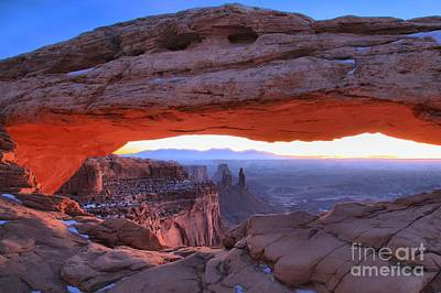 Photograph - Mesa Sunrise by Adam Jewell