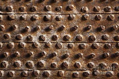 Aleppo Photograph - Metal Door At The Citadel Of Aleppo Syria by Robert Preston