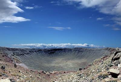 Impact Photograph - Meteor Crater by Detlev Van Ravenswaay