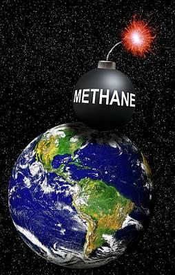 Hypothesis Photograph - Methane Bomb by Victor De Schwanberg