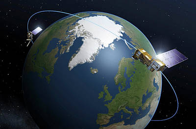 Exploitation Photograph - Metop-second Generation Satellites by Esa-p. Carril