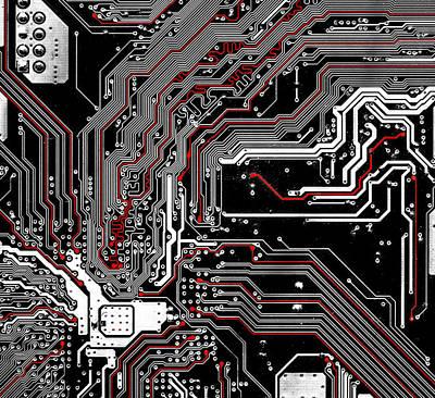 Microchip Digital Art - Metro by Alex Hiemstra