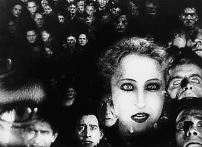 Brigitte Photograph - Metropolis, Brigitte Helm, 1927 by Everett