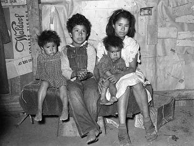 Mexican Sister Photograph - Mexican Children, 1939 by Granger