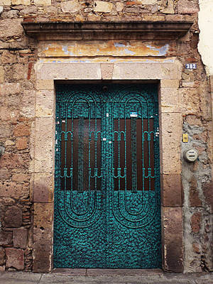 Photograph - Mexican Door 51 by Xueling Zou