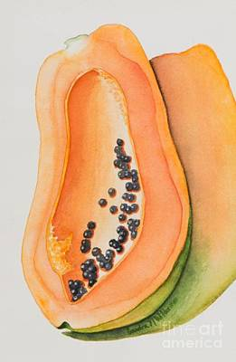 Mexican Papaya Art Print