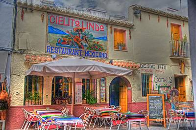 Mexicano Photograph - Mexican Restaurant by Rod Jones