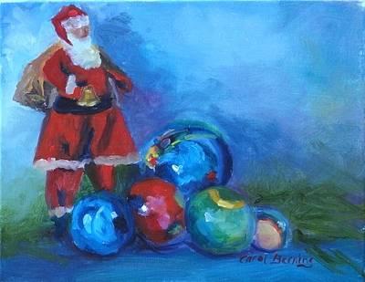 Mexico Santa  Art Print by Carol Berning
