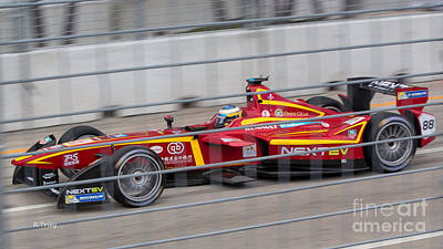 Photograph - Miami  Eprix Championship Street Race by Rene Triay Photography