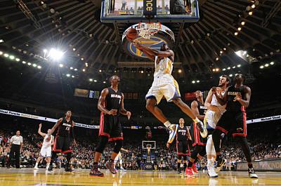 Photograph - Miami Heat V Golden State Warriors by Noah Graham