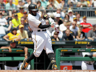 Photograph - Miami Marlins V Pittsburgh Pirates by Justin K. Aller