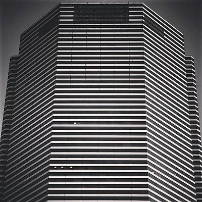 Architecturelovers Photograph - Miami Tower - Miami by Joel Lopez