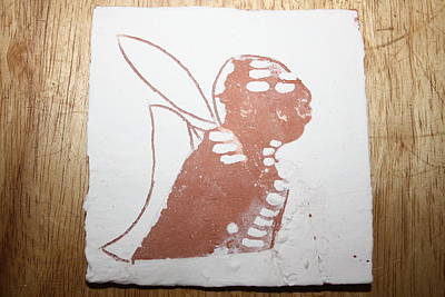 Micah - Tile Art Print by Gloria Ssali