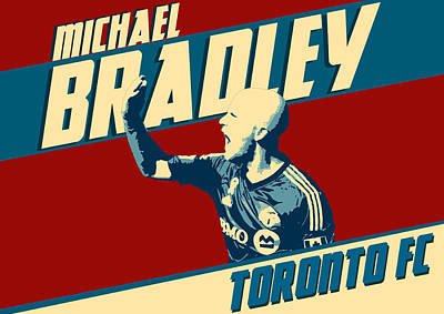 Champion Digital Art - Michael Bradley by Taylan Apukovska