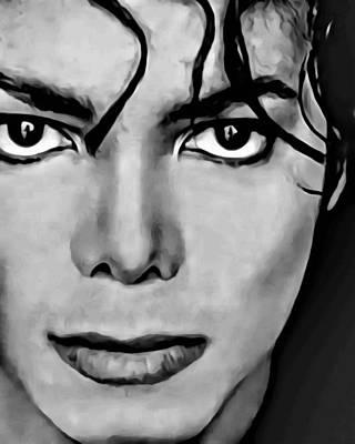 Michael Jackson Painting - Michael by Florian Rodarte