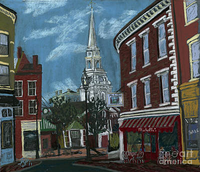 Painting - Michelle's On Market Square by Francois Lamothe