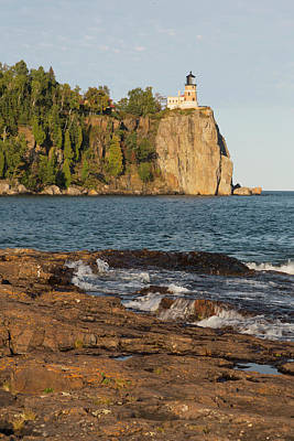 Lake Superior Lighthouse Photograph - Michigan, Lake Superior North Shore by Jamie and Judy Wild