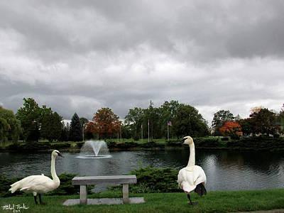 Michigan Memorial Park Original by Michael Rucker
